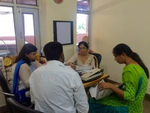 Counselling Session with Patients